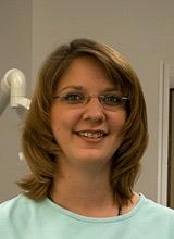 Frau Schönstedt aus der Zahnarztpraxis Meiser