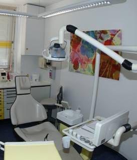 Behandlungszimmer 2 der Zahnarztpraxis Meiser
